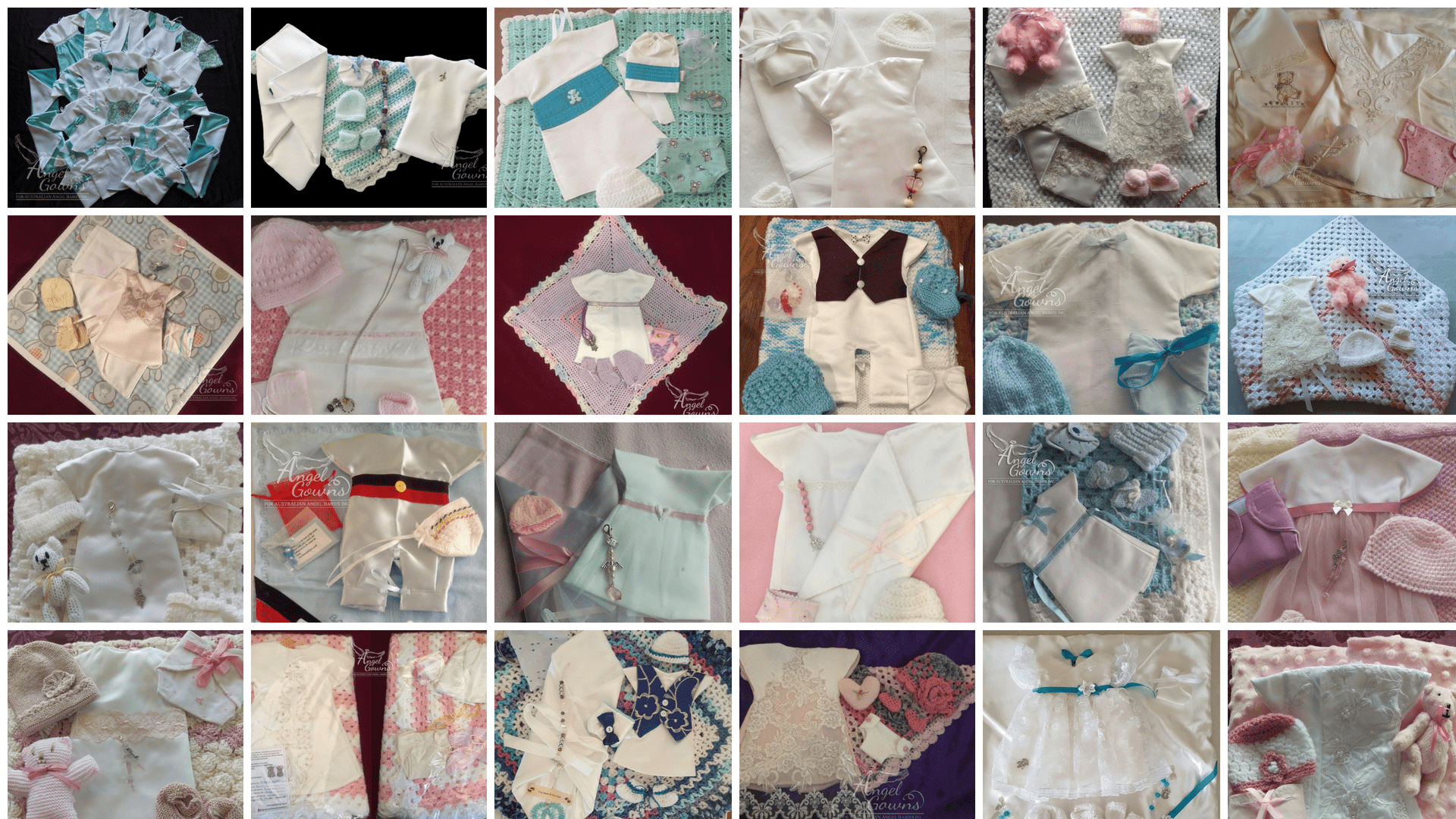 Angel Gowns - For Australian Angel Babies Incorporated